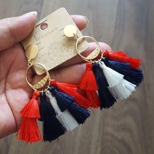 Texans earrings